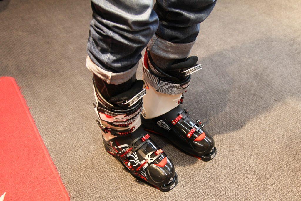 De færdige Fischer Vacuum Fit skistøvler