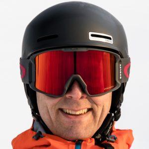 Oakley Line Miner goggles i Iron Brick design med Prizm Torch Iridium linse