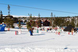 Børneområde i Trysil Høyfjellssenter