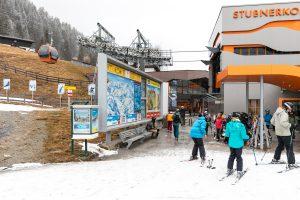 Stubnerkogelbahns dalstation nær centrum af Bad Gastein // Foto: Troels Kjems