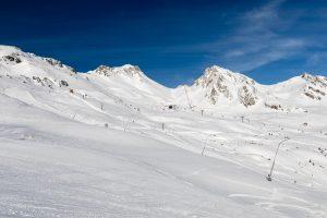Udsigt mod Hohe Scharte, Bad Gasteins højestbeliggende piste // Foto: Troels Kjems