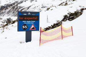 Både på og uden for Sportsgasteins pister er der udfordringer til garvede skiløbere // Foto: Troels Kjems