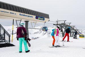 Højeste punkt i både Sportgastein, Gasteinerdalen og hele Ski Amadé // Foto: Troels Kjems