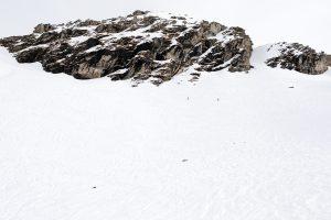To små skiløbere på pudderjagt i Sportgastein // Foto: Troels Kjems