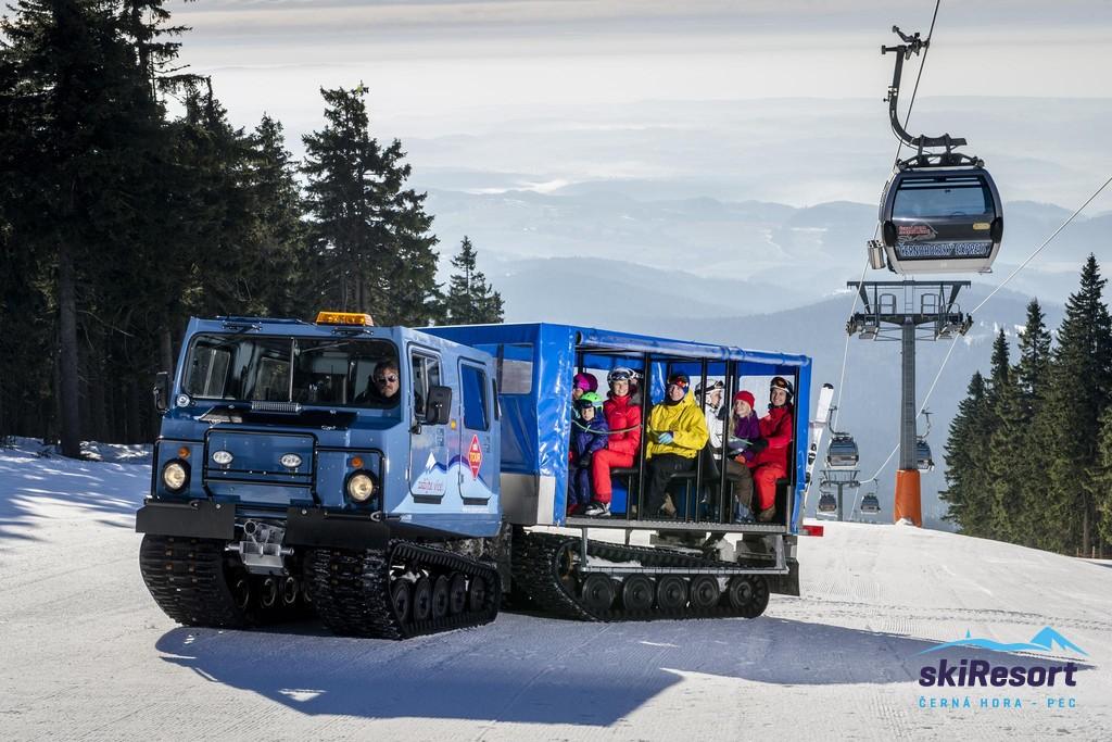Černá Hora Snowcat
