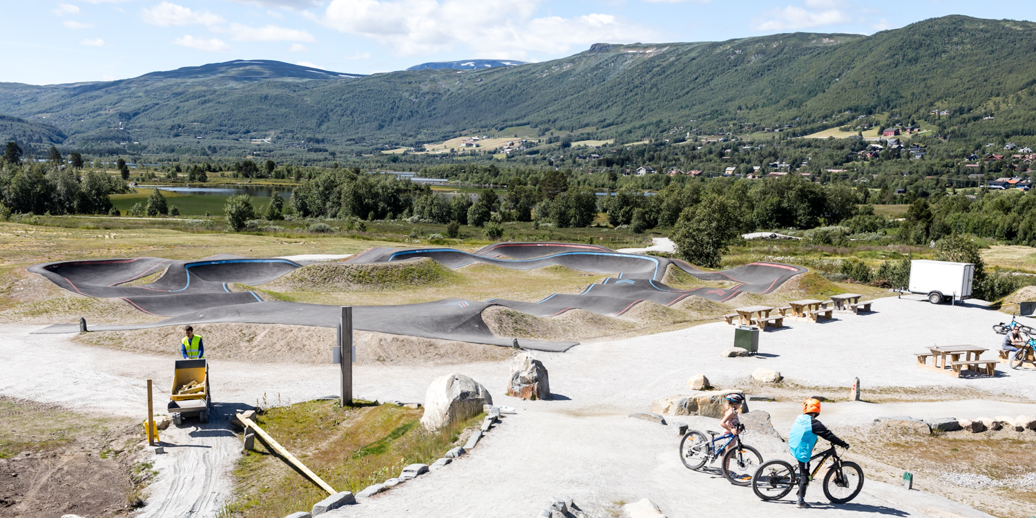 Geilo Mountainbike Pumptrack