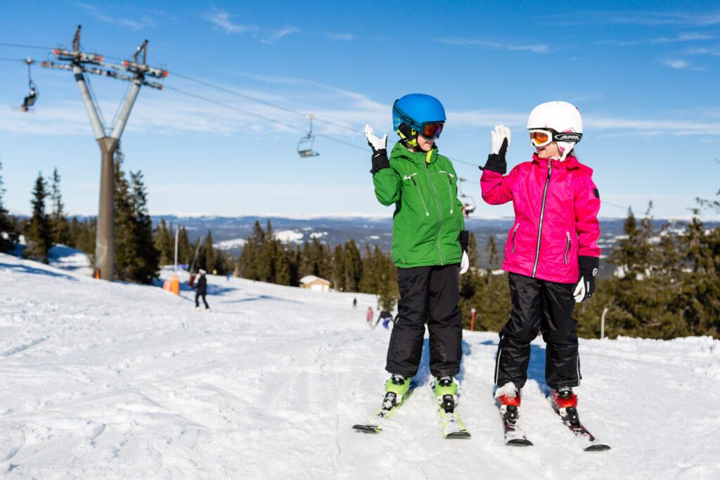 Gode skiområder til børn
