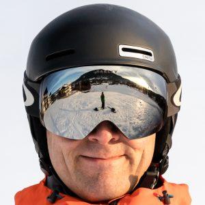 Oakley Flight Deck goggles i Torstein Sig Nexus Iron design med Prizm Black Iridium linse