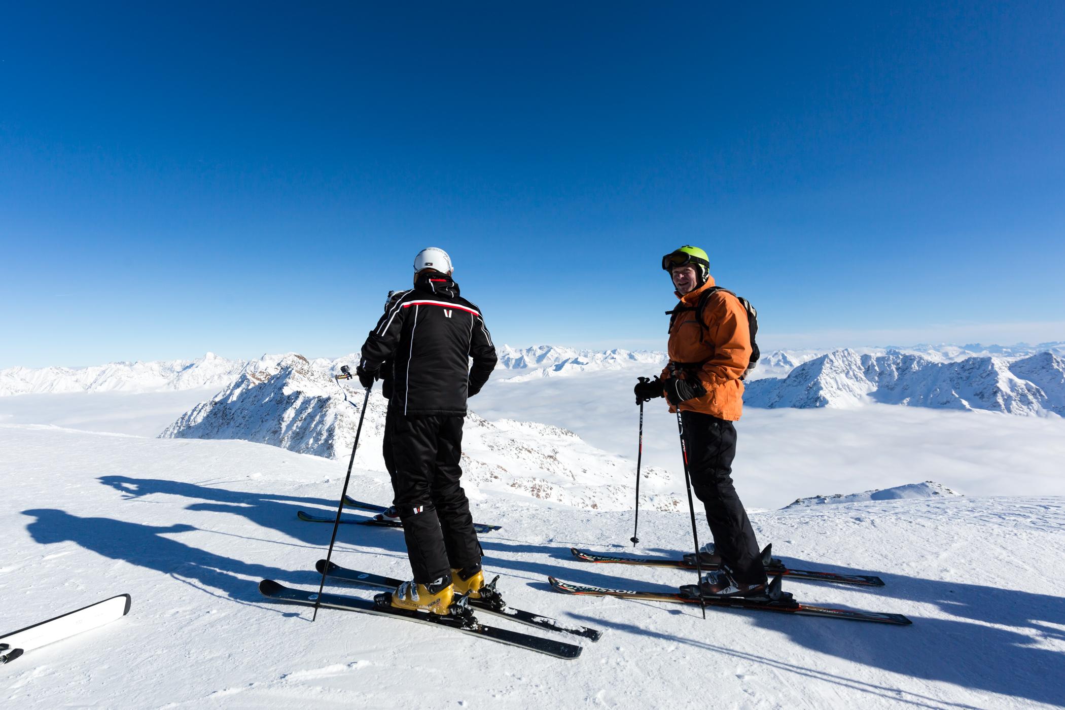 Højtbeliggende skisportssteder