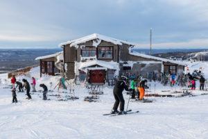 Restaurang Utsikten nær toppen af Idre Fjäll // Foto: Troels Kjems