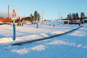 Børneområdet i den vestlige del af Idre Fjäll // Foto: Troels Kjems