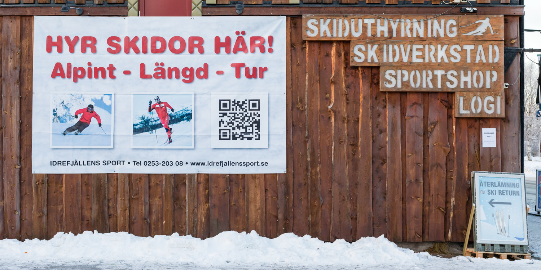 Idre Fjäll Skiudlejning