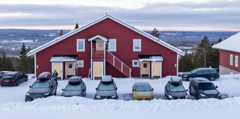 Idre Fjäll parkering