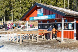 Salg af Liftkort i Isaberg