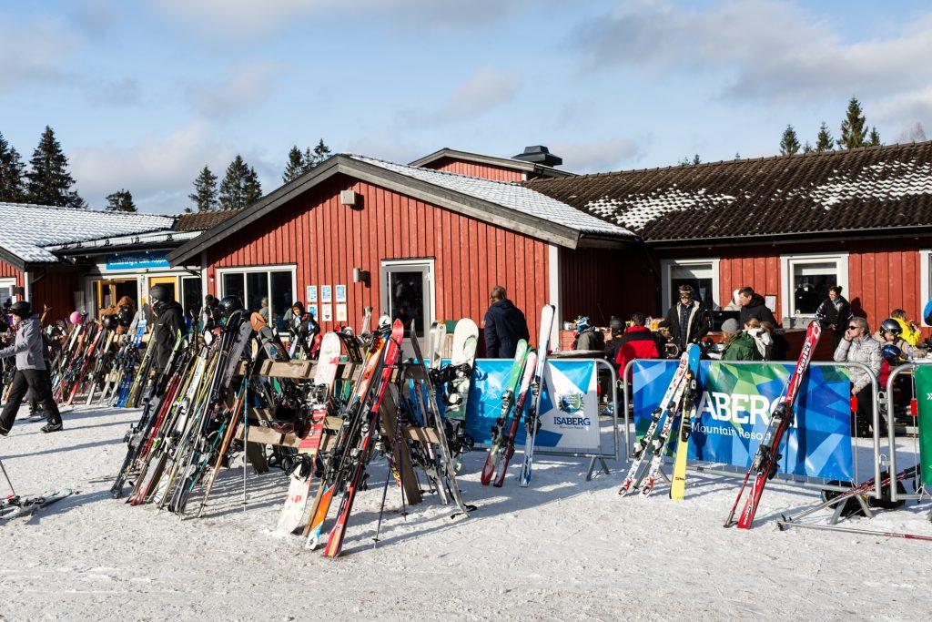 Restaurant Toppstugan i Isaberg