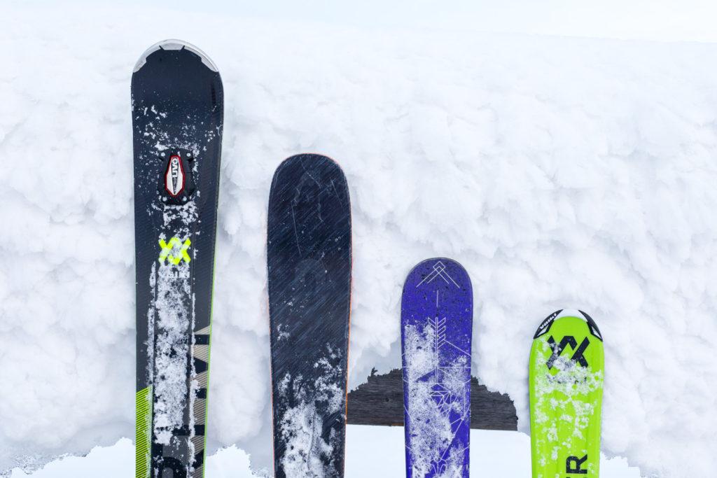Længde på ski
