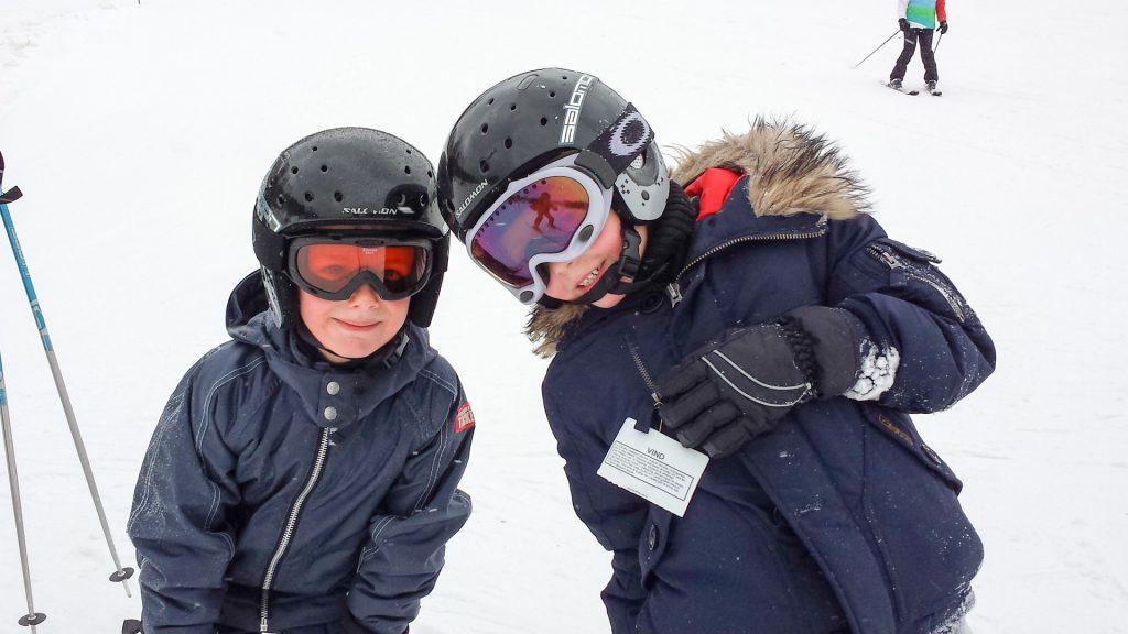 Glade børn i Vallåsen