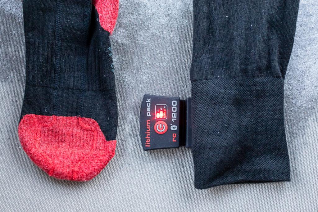 Lenz strømper med varme