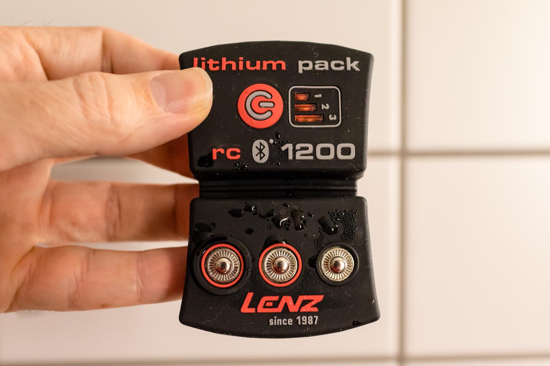 Lenz rcB 1200 batteri