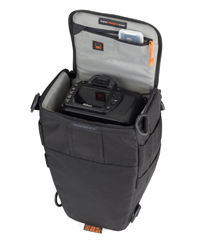 LowePro toploader fototaske til skiloeb