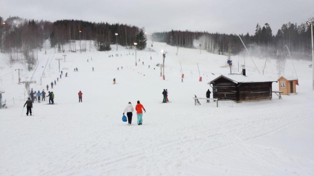 Nye børnebakker i Vallåsen