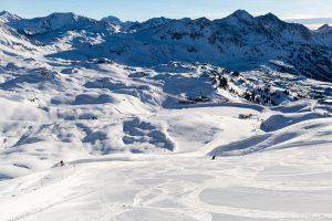 En solskinsdag i Obertauern i Østrig.