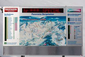 Obertauern ligger højt og snesikkert. Selv i dårlige vintre kan alle pister holdes åbne.
