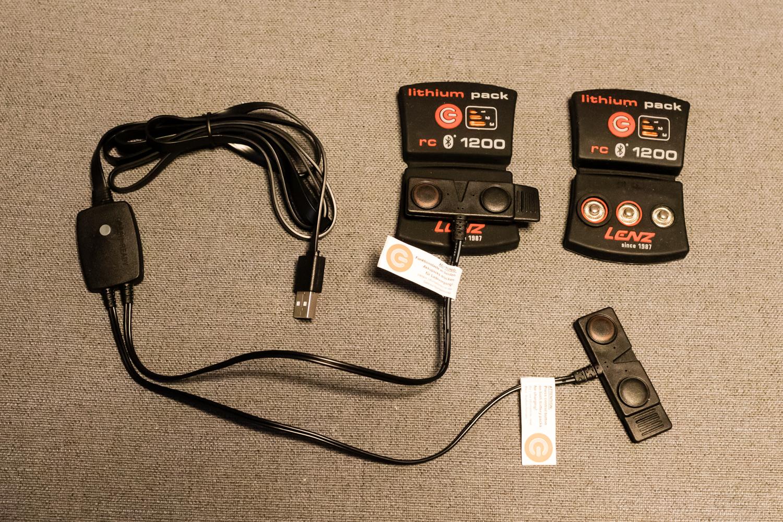 Oplader til Lenz rcB 1200 batterier