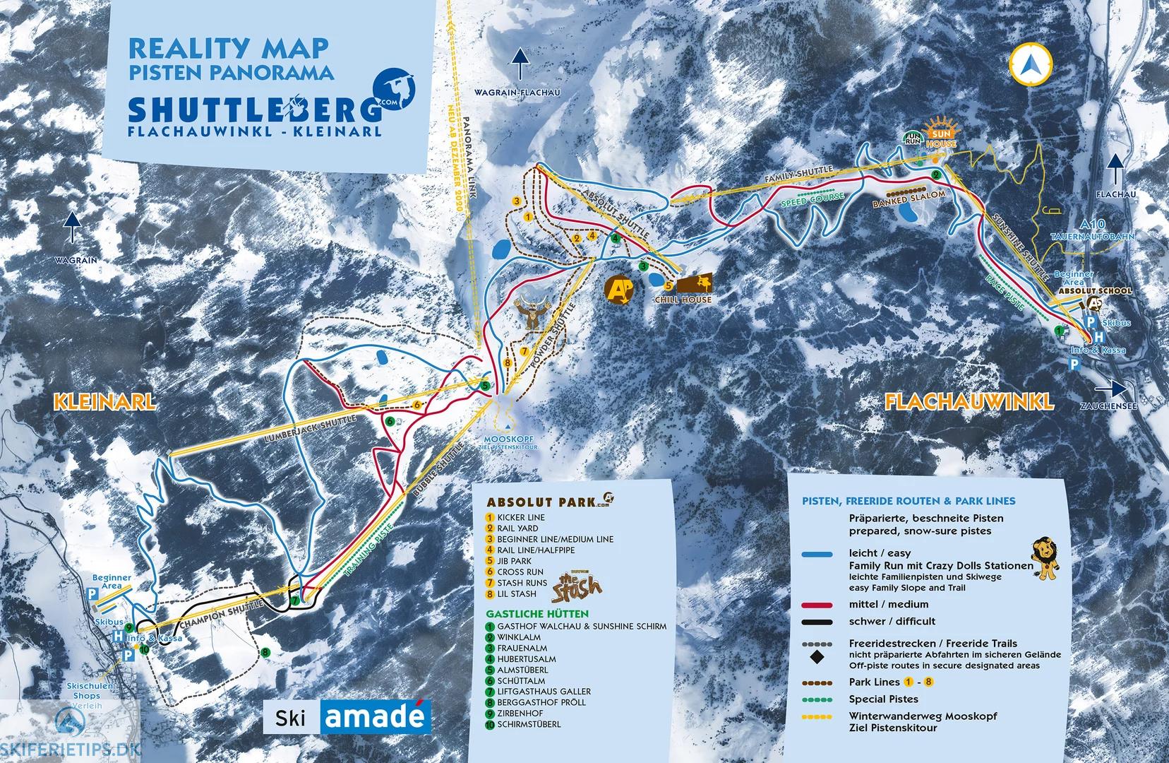 Kleinarl Pistekort Se Kort Over Pister Og Skilifter