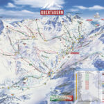 Pistekort Obertauern