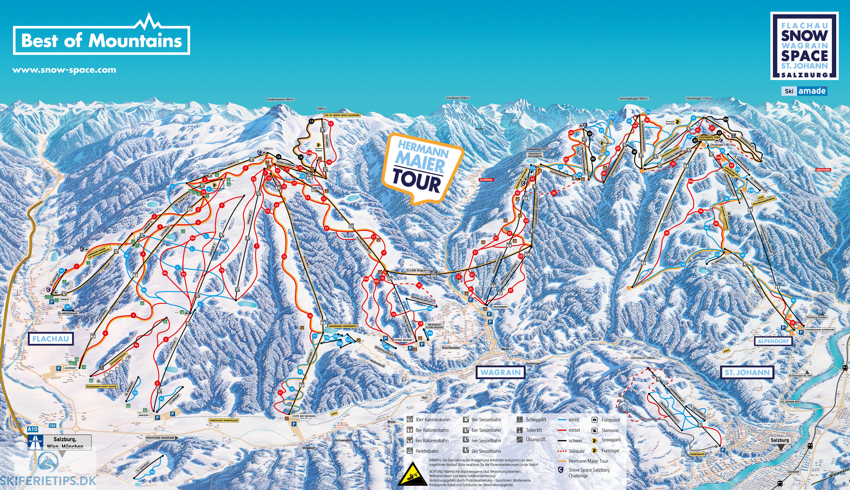 Pistekort Se Kort Over Pister Og Lifter Pa Skisportssteder Her