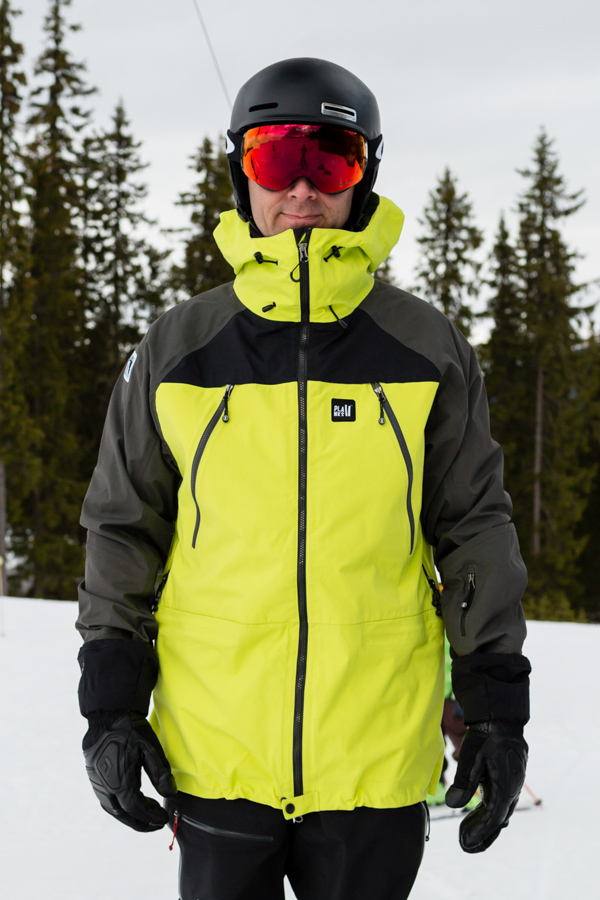 Planks Yeti Hunter 3L skijakke