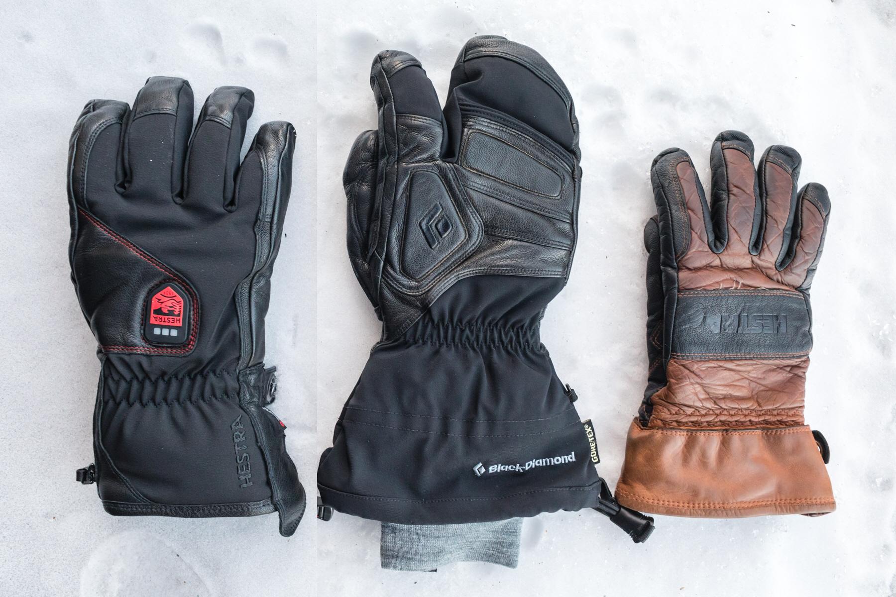 Power Heater sammenlignet med andre skihandsker