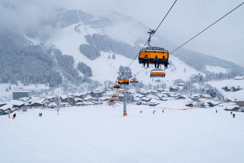 Saalbach-Hinterglemm = Godt skiløb + Heftig afterski