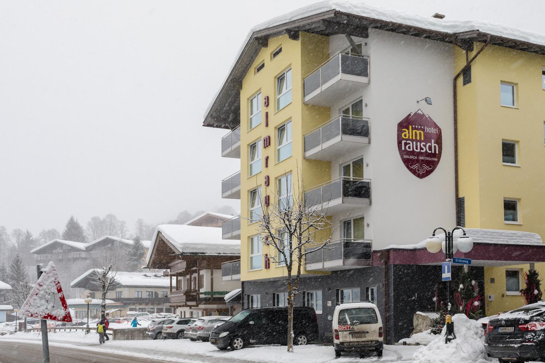 Hotel Almrausch i Hinterglemm
