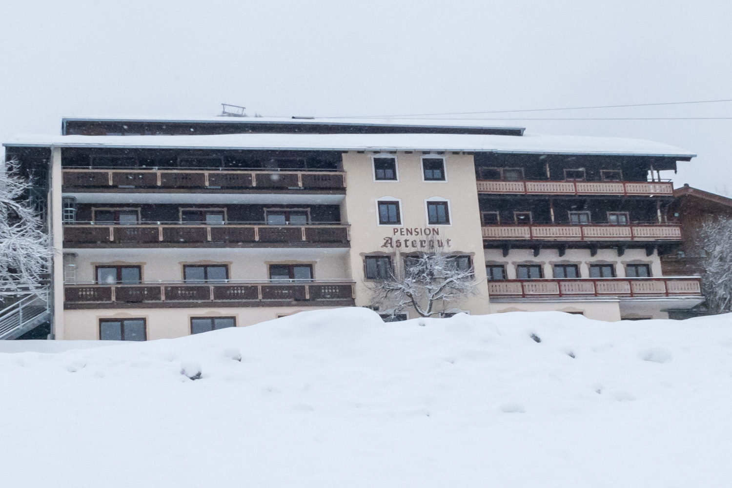 Saalbach-Hinterglemm Hotel Pension Astergut