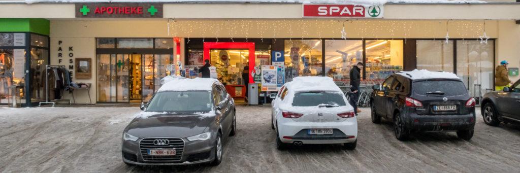 Saalbach-Hinterglemm Supermarked