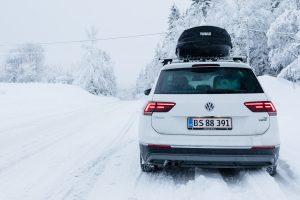 Husk at tage vinterdæk på og snekæder med, hvis I selv kører til Sälen // Foto: Troels Kjems