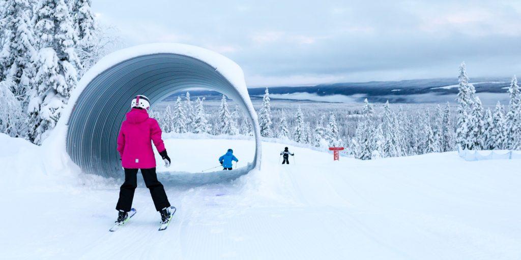 Sälen Lindvallen Skicross
