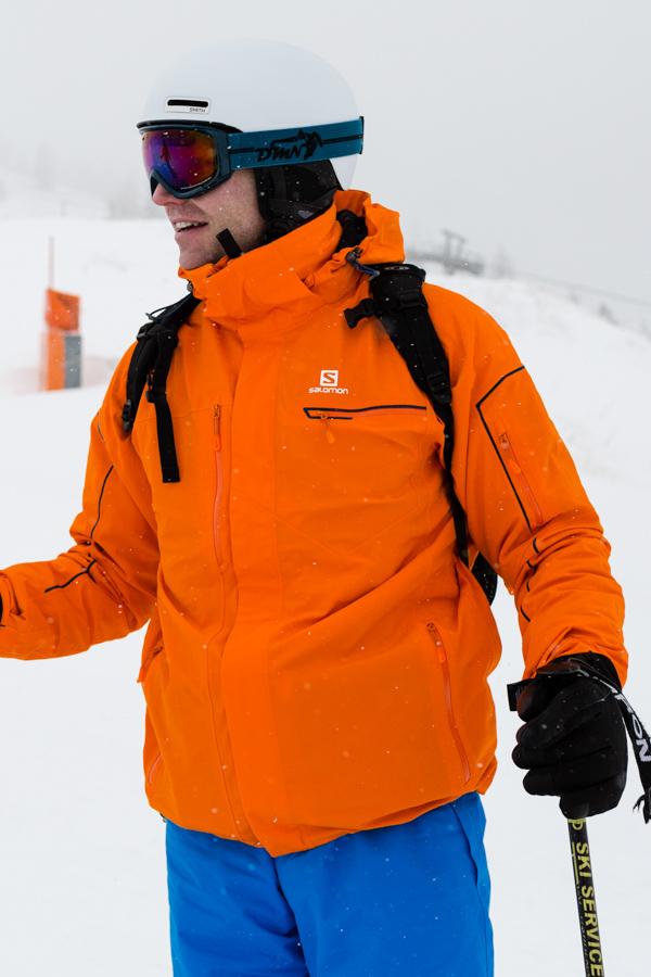 Salomon Brilliant skijakke
