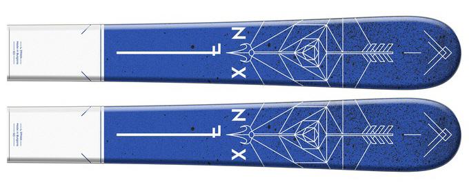 Salomon N NFX Jr ski