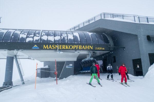Masnerkopf (2.820 m.o.h.) er det højeste punkt i Serfaus-Fiss-Ladis // Foto: Troels Kjems