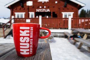 Varm kakao ved Nystua