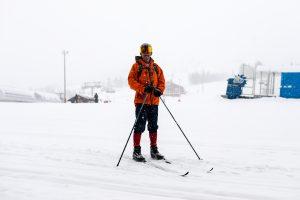 Langrend i snevejr
