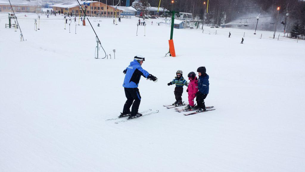 Skiskole i Vallåsen
