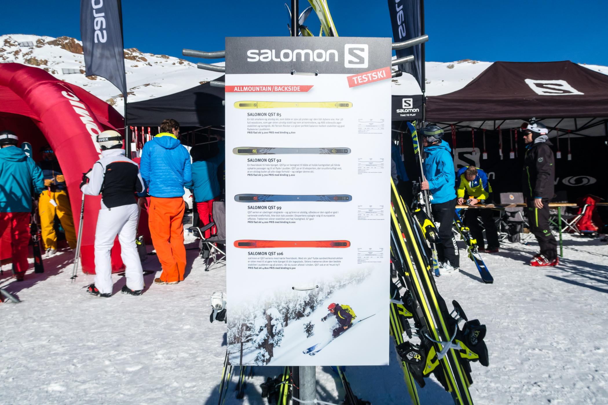 Guide til valg af de rigtige ski // Foto: Troels Kjems