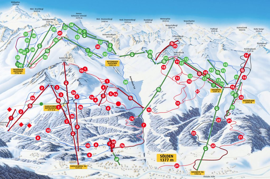 Guide: Snowcamp i Sölden