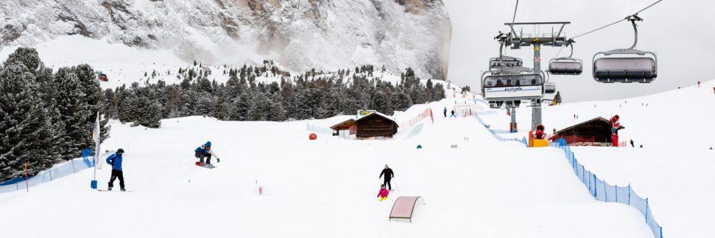 Snowpark Val Gardena