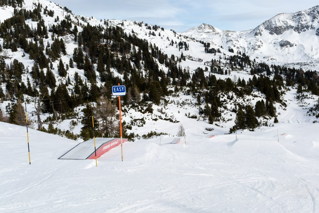 Snowpark i Obertauern