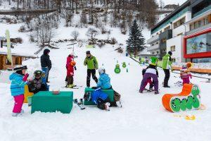 Skiskole i Sölden